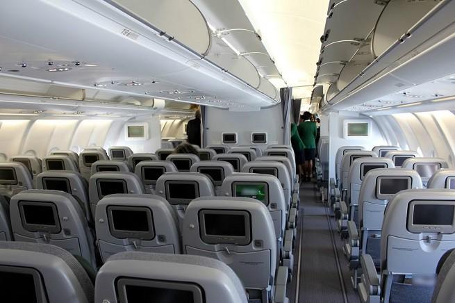 L'interno di un aereo può essere fonte di esposizione alle infezioni batteriche (immagine di repertorio non legata alla notizia)
