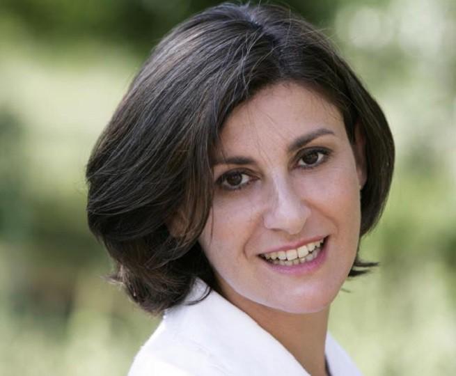 Vittoria Piancastelli Tracquilio (Roma 16 Luglio 1962 - Roma 12 Settembre 2015) - Foto dal profilo Facebook dell'attrice