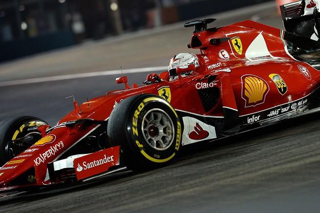 Sebastian Vettel ha vinto per la quarta volta il GP di Singapore, per la prima con una Ferrari (© FOTO STUDIO COLOMBO PER FERRARI MEDIA - © COPYRIGHT FREE)