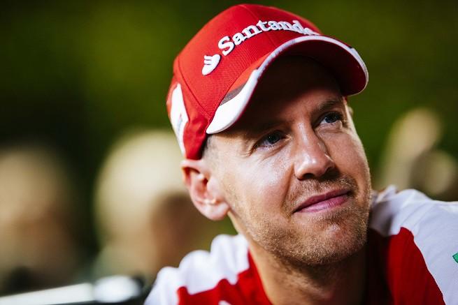 Sebastian Vettel è tetra campione del mondo di F1 (2010-2011-2012-2013) - Foto Ferrari Media