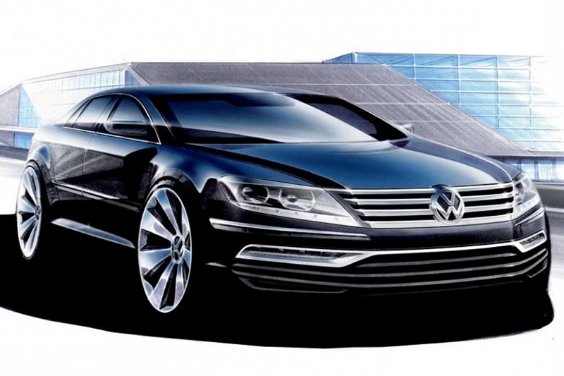 20151015-VW-Phaeton-future-full-electric