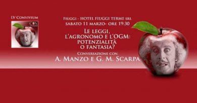 Agronomia e OGM sotto i riflettori del LV Convivium a Fiuggi Terme