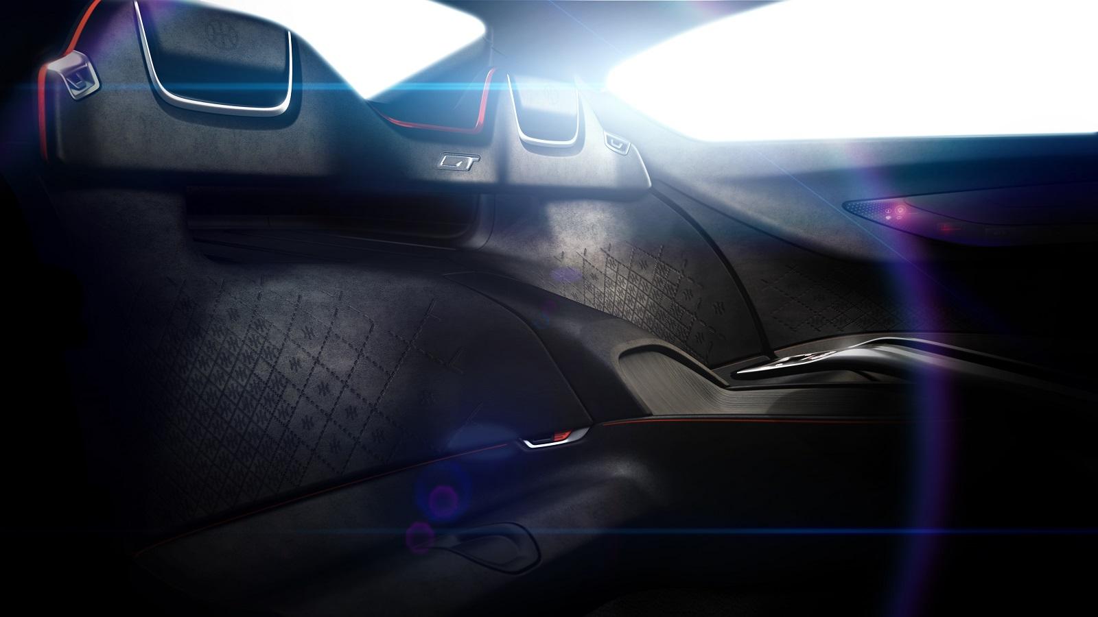 HK GT teaser interior by Pininfarina
