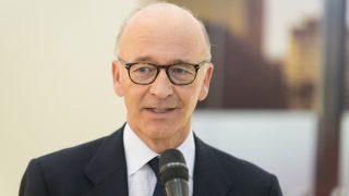 Maurice Turrettini , presidente del Salone Internazionale dell'Automobile di Ginevra (foto ©GIMS.SWISS)