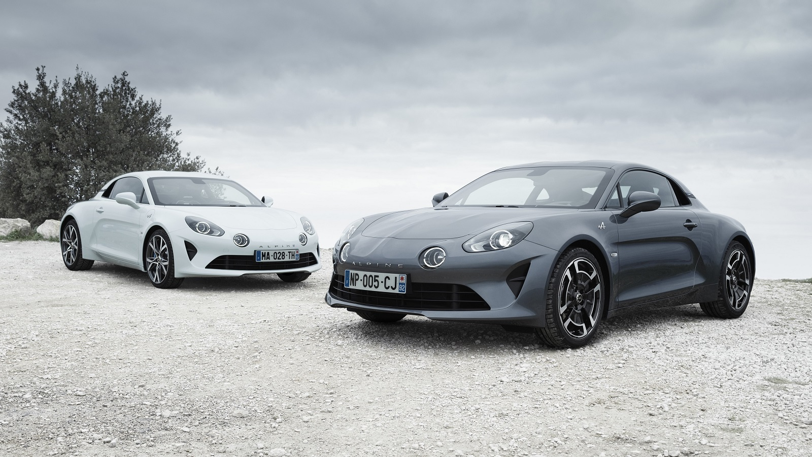ALPINE A110 Pure e ALPINE A110 Légende