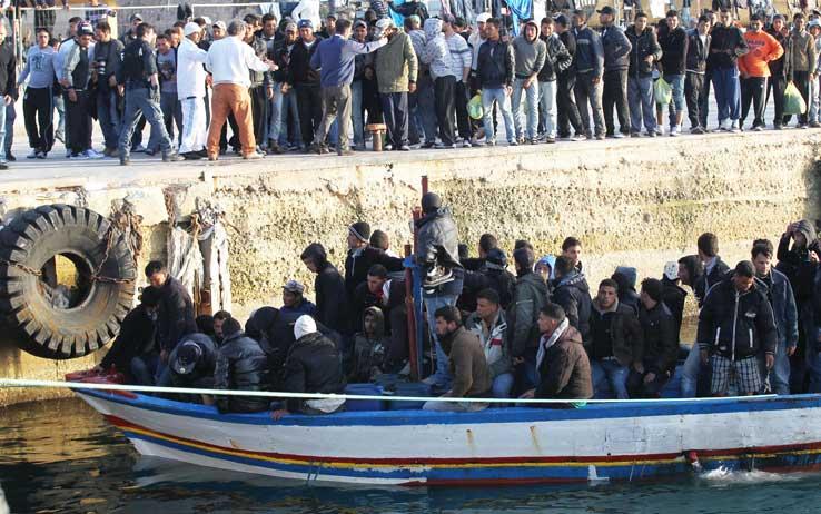 Sbarchi Lampedusa