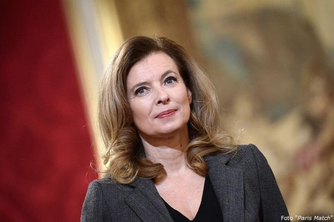 "Valérie Trierweiler, ""prima"" première dame o ex première dame? (Foto Paris Match)"