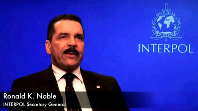 Ronald Noble, Segretario Generale dell'Interpol (foto Interpol)