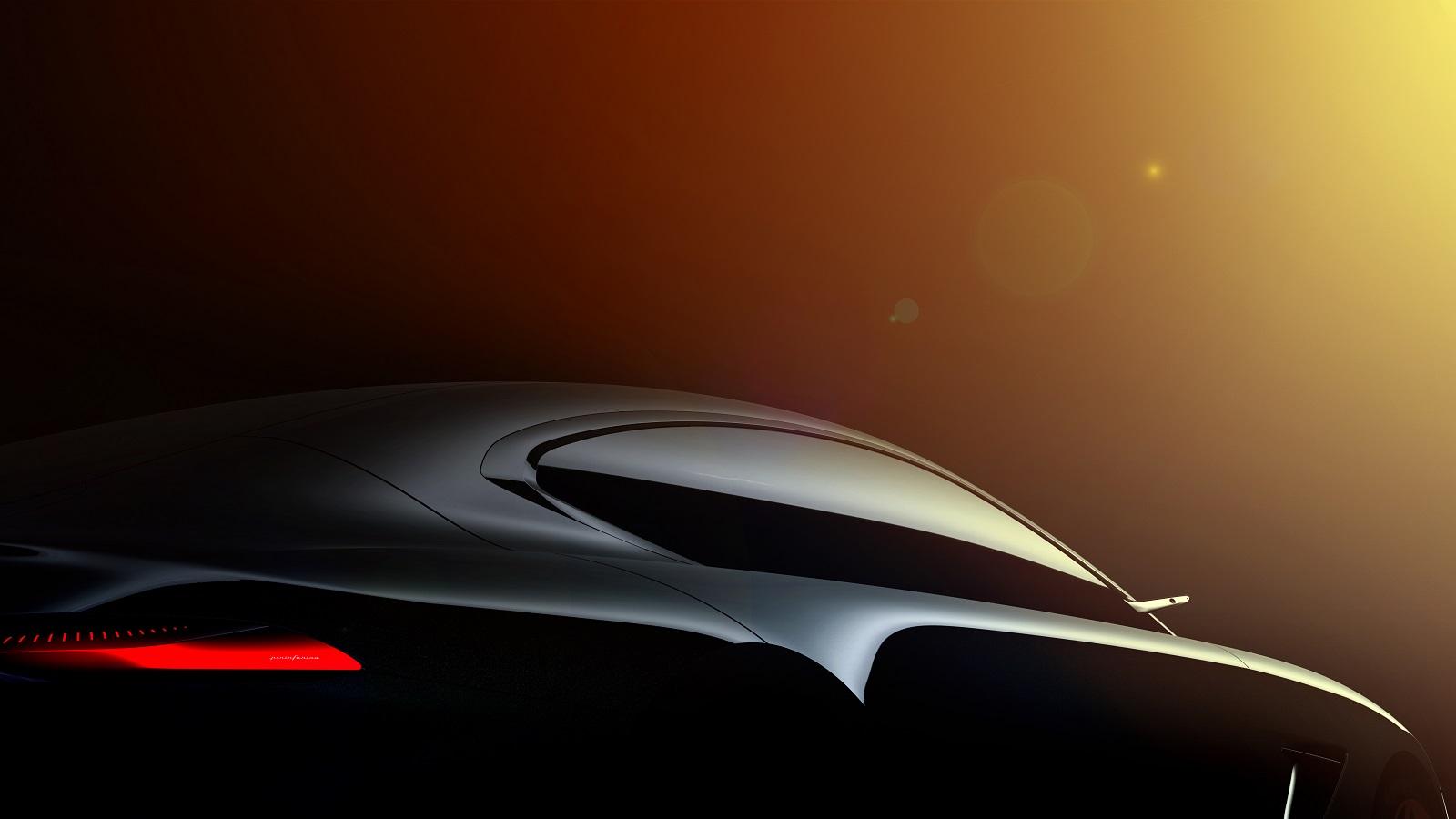 HK GT teaser exterior by Pininfarina
